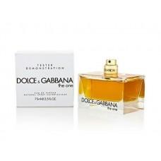Parfum tester Dolce Gabbana The One 75ml Apa de Parfum