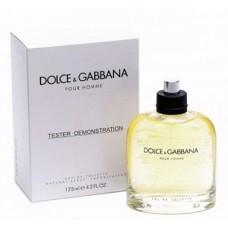 Parfum tester Dolce Gabbana Pour Homme 125ml